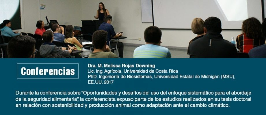 Conferencia Dra. M. Melissa Rojas Downing