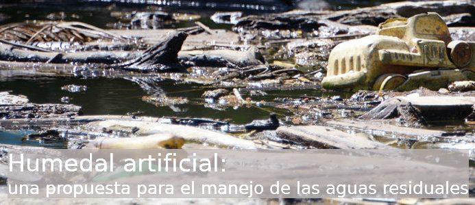 Humedal Artificial. Foto: Laura Rodríguez.