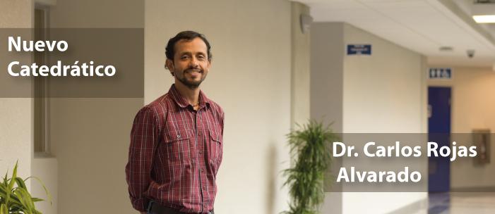 Dr. Carlos Rojas A, nuevo catedratico.