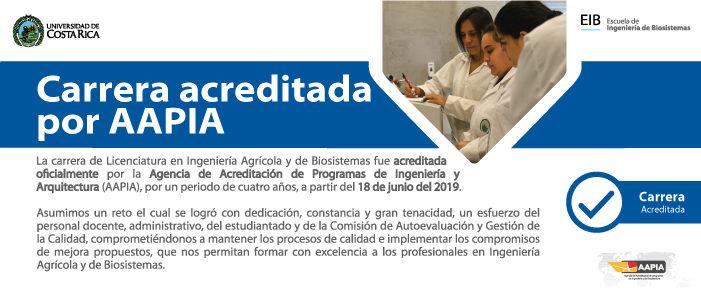 Carrera Licenciatura en Ingeniería Agrícola y de Biosistemas