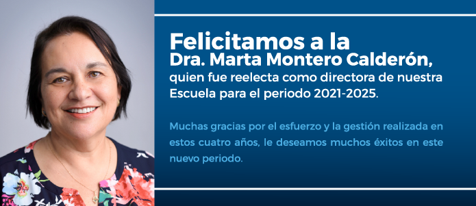 Reelección Dra. Marta Montero C