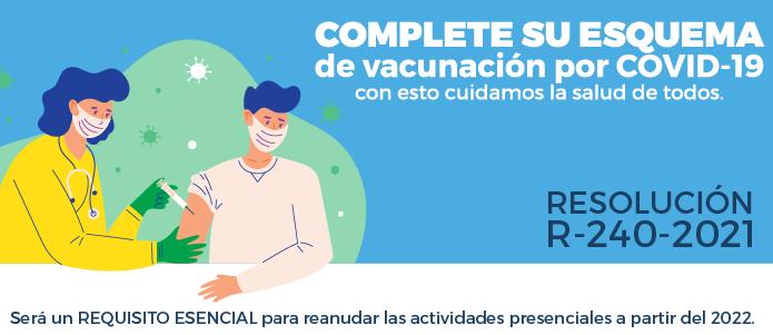 Vacunación obligatoria R-240-2021